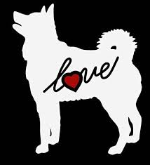 Amazon Com Siberian Husky Dog Animal Puppy Love Heart Custom Car Decal Window Sticker Vinyl Free Shipping Handmade