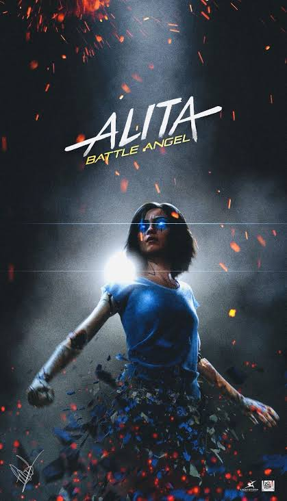 Download Alita: Battle Angel (2019) Hindi 720p 480p HDTC Dual Audio [ हिन्दी – English ]