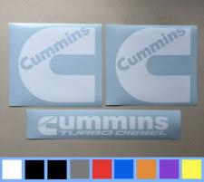 Cummins Window Decals Graphics Decals For Sale Ebay