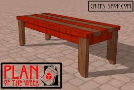 wooden plans design craft bench plans