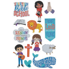 Bible School 3d Stickers Hobby Lobby 1885391