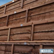 Weatherwell 6ft Timber Fence Post 3x3 Long 75mm X 75mm 3 X 3 Brown 2 4mtr 8ft Decking Fencing Railings Pickets