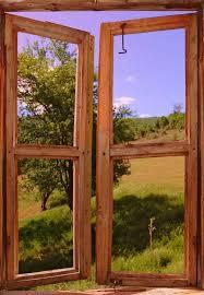Landscape Seen Through A Window Custom Wall Decals Wall Decal Art And Wall Decal Murals Wallmonkeys Com Window Wall Mural Door Murals Custom Wall Decals