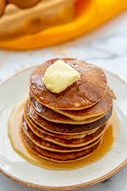 healthy banana oat pancakes a mind