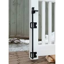 Snug Cottage Hardware Wrap Around Stainless Steel Cane Bolt Drop Rod With Retainer For Pvc And Vinyl Fence Gates Hoover Fence Co