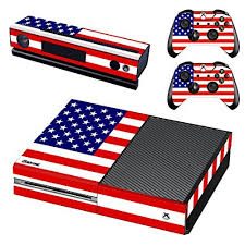 Uushop Usa Flag America Flag Skin Stickers For Microsoft Xbox One With Two Free Wireless Controller Decals The Stars An Xbox One Skin Xbox One Xbox One Console