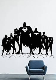 Wall Decals Decor Vinyl Batman Superhero Buy Online In Burundi At Desertcart