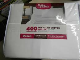400 thread count egyptian cotton