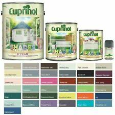 Cuprinol Garden Shades Paint Furniture Sheds Fences All Colours And Sizes Ebay