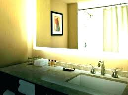 bathroom mirror mounting clips hanging