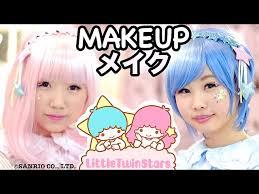 kawaii little twin stars makeup