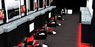 hair salon furniture design in mall for