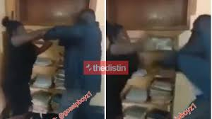 Man Wanted By The Police After Using A Broom To Physically Assault A Female  Lawyer In Her Office | Video – Thedistin