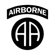 Aa Airborne Army Vinyl Sticker