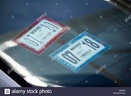 Vehicle Sticker High Resolution Stock Photography And Images Alamy