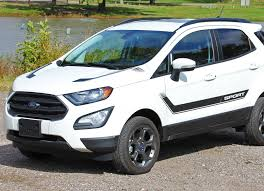 2013 2020 Ford Ecosport Flyout Side Door Stripes And Hood Accent Vinyl Graphic 3m Decal Ford Ecosport Car Stripes Rally Stripes