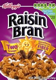 raisin bran deconstructed sugar and