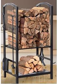 com firewood storage rack with