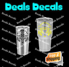 Uanl Tigres Mexican Soccer Decal For Yeti Cup Tumbler 20 And 30 Ozark Trail Ebay