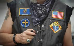 Lethal Threat Why Do Bikers Have Embroidered Patches On Their Jacket