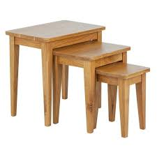 argos home nest of 3 tables solid