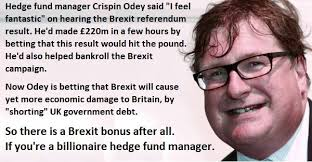 """Tom Scott on Twitter: """"Rupert Murdoch's daughter married billionaire hedge  fund manager Crispin Odey, who made £220m on the night of the referendum by  betting against the pound & UK stocks. The #"""