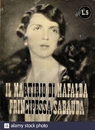 1946, ITALY : MAFALDA di SAVOIA ( Roma 1902 – Buchenwald, 1944 ...
