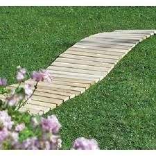 wooden garden walkway cedar 8 foot