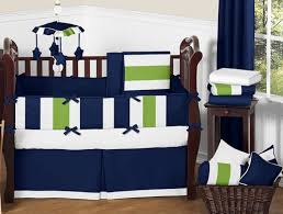 Navy Blue And Lime Green Stripe Peel And Stick Wall Decal Stickers Art Nursery Decor By Sweet Jojo Designs Set Of 4 Sheets Only 12 27