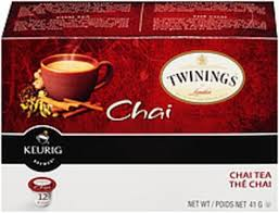 twinings of london chai tea k cup pods