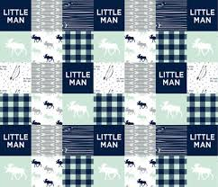 mint navy gray quilt baby boy quilt