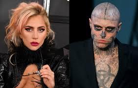 born this way skeleton guy makeup
