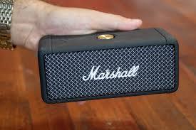 Test] Marshall Emberton, une enceinte portable qui déchire ! | Gentleman  Moderne