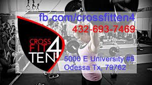 crossfit gym permian basin texas