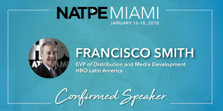 """NATPE on Twitter: """"NATPE is excited to have Francisco Smith, EVP ..."""