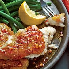 Pan-Seared Grouper with Balsamic Brown ...