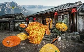 Phim trường Alibaba: Nơi bình yên cho các cặp đôi giữa mùa mưa bão ...