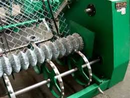 Nova S Chain Link Fencing Machine Compact Roll Made Of Galvanized Wire Youtube