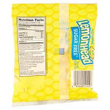 ferrara pan lemonhead sugar free