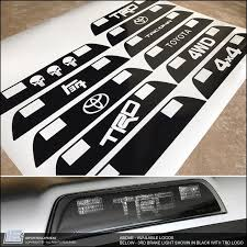 Toyota Tacoma 3rd Brake Light Decal Fits 2016 Importequipment