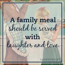 serving family meals laughter and love susan merrill