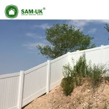 China 6 X 8 Vinyl Privacy Fence Double Gate On A Slope China Cheap White Vinyl Privacy Fence White Vinyl Privacy Fence