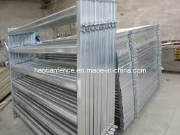 Metal Horse Yards Cattle Fence Panel Sheep Livestock Panel China Manufacturer