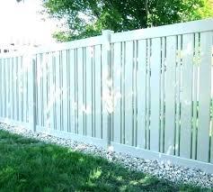Vinyl Gothic Picket Fence Vinyl Picket Fence Fence Design Picket Fence