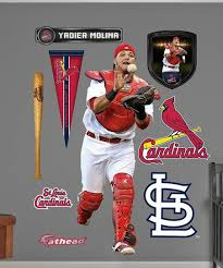Fathead St Louis Cardinals Yadier Molina Wall Decal Set Best Price And Reviews Zulily