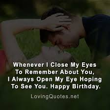 latest happy birthday my love quotes in english love quotes