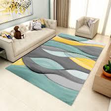 Hot Offer F0d2d Geometry Pattern Rectangle Carpet Quality For Living Room Bedside Large Children Play Area Rug Kids Room Crawl Simple Modern Mat Cicig Co