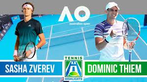 AO 2020 SF] Zverev - Thiem 🎾 1st Set Highlights - Semi Final (Australian  Open 2020) - YouTube