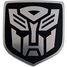 Amazon Com 24designs Compatible Truck Front Emblem Transformers Autobot Black Replacement For Dodge Ram Everything Else