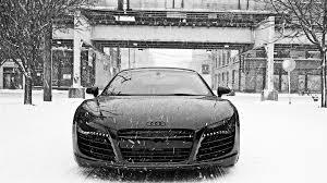 black audi r8 wallpaper hd car